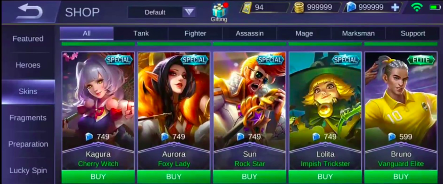 Mobile Legends Hack cho android